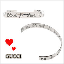 17SS★GUCCI★Blind for Love シルバーブレスレット