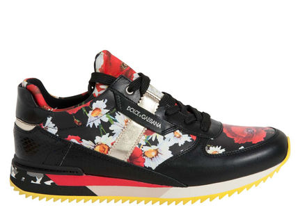 DOLCE &GABBANA ladiesthewspappy print sneakers