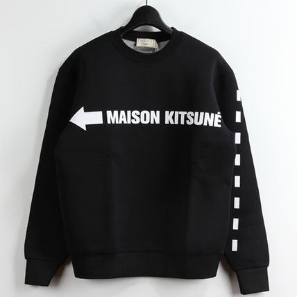 Immediate delivery MAISON KITSUNE 17SS SIGNALION SWEAT