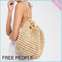 【Free People】SS新作!裏地付き★ ストローバックパック