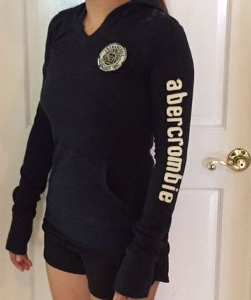 Abercrombie & Fitch Tシャツ・カットソー ガールズXLキュートなフード付きtee(2)