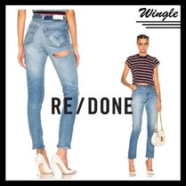 『RE/DONE』HIGH RISE ヒップダメージ【関税送料込】