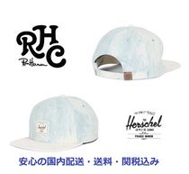 関税・送料込*RH取扱*Hershel Supply*Bleached Denim/Suede