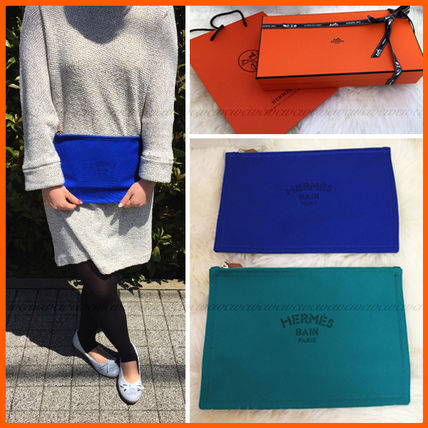 Also in the gift HERMES GM flat Pouch
