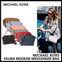 【Michael Kors】SELMA MEDIUM MESSENGER BAG 7色 30T3GLMM2L