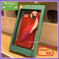 【kate spade】3Dのオウムさん♪シリコン iPhone7 case★