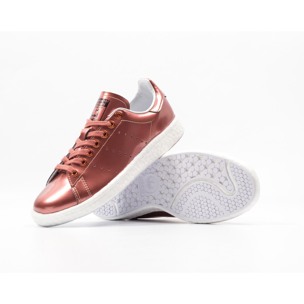 人気ニュモデルadidas★STAN SMITH BOOST METALLIC BB0107