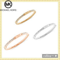 セレブ愛用者多数☆Michael Kors☆Crystal Bangle Bracelet