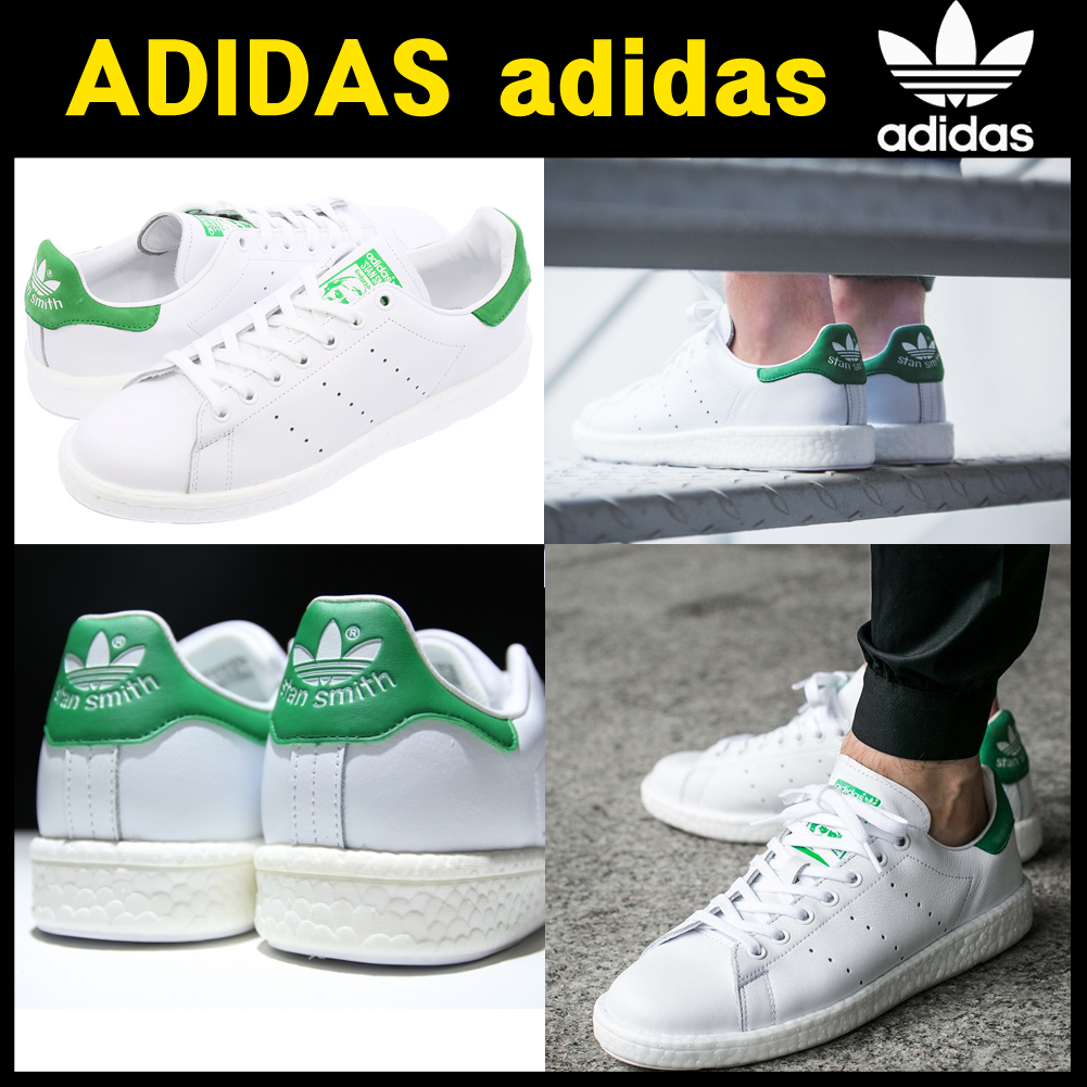 人気ニュモデルadidas★STAN SMITH BOOST BB0008
