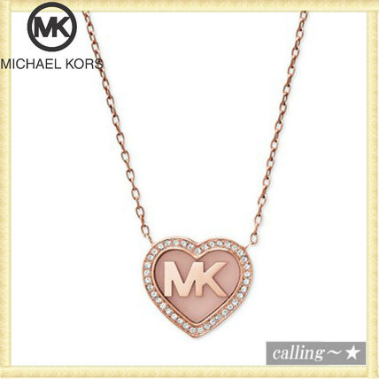 セレブ愛用者多数☆Michael Kors☆Heart Pendant Necklace