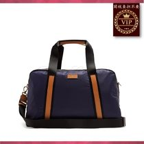 Paul Smith(ポールスミス) バッグ ★新作すぐ届く★Tri-colour leather-trimmed nylon holdall