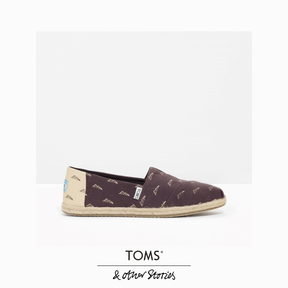 ★&Other Stories x TOMS★ピラミッドプリントエスパドリーユ★