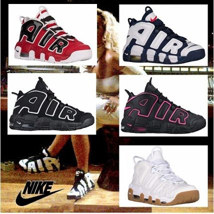 Nike スニーカー 【待望の再入荷】レディスOK!Kids size Nike Air More Uptempo