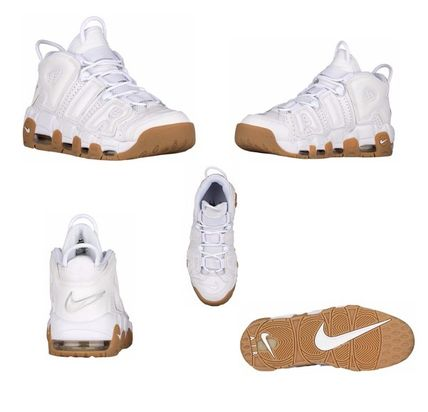 Nike スニーカー 【待望の再入荷】レディスOK!Kids size Nike Air More Uptempo(4)