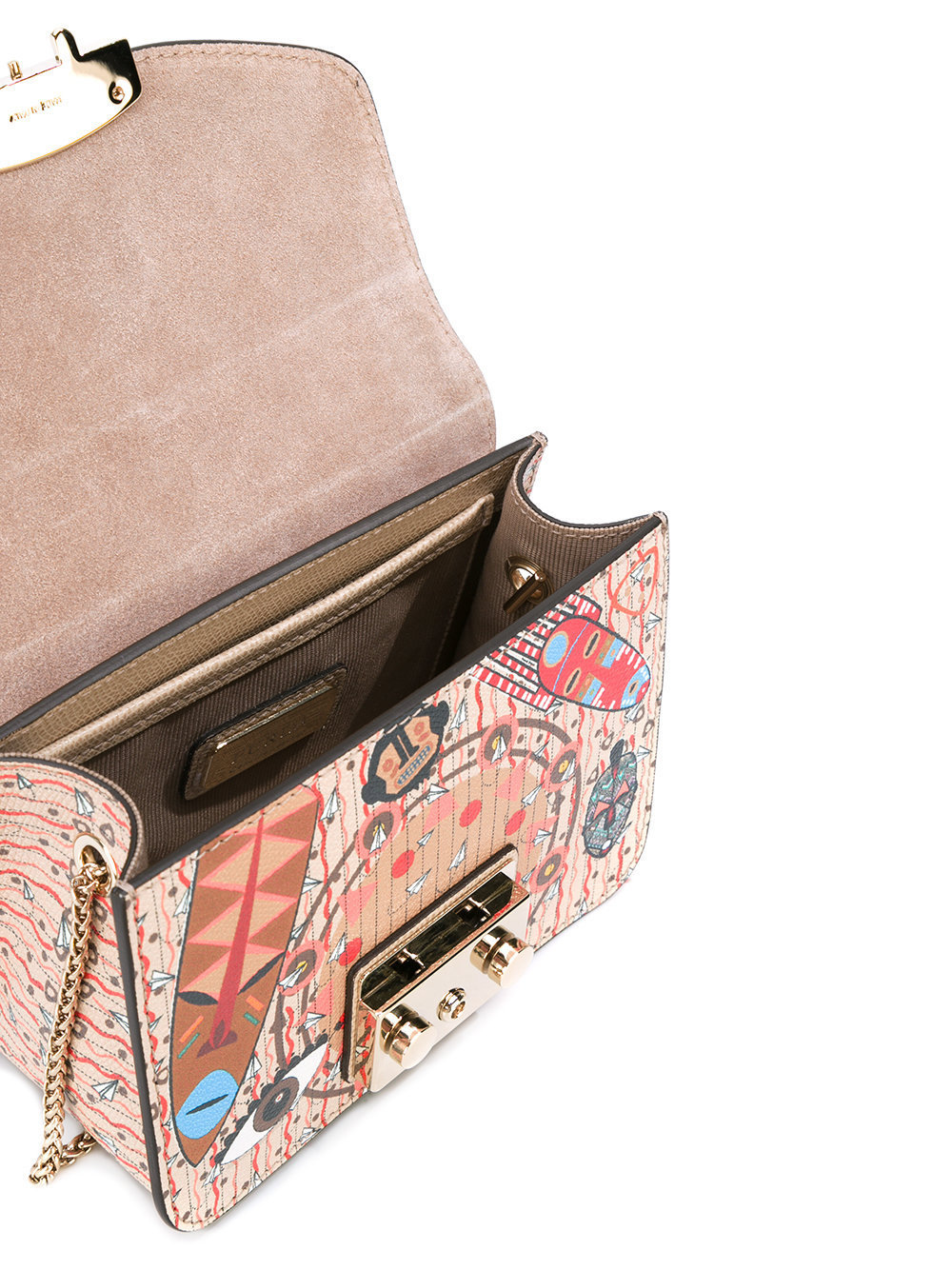 大人気♦FURLA  ethnic print crossbody bag♦