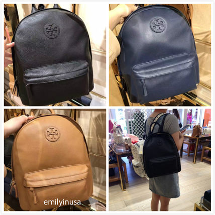 Sale TORY BURCH leather TB logo BACKPACK *