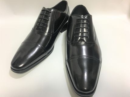 VERSACE COLLECTION men's straight tip dress shoes