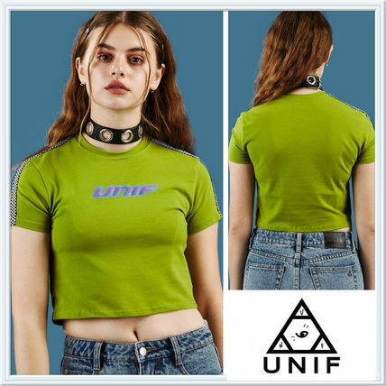 Send UNIF sleeve design is a stylish short-length tops