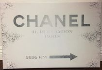 Oliver Gal★Couture Road Sign Classic★キャンバス 91cmx61cm