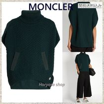 MONCLER(モンクレール) ポンチョ・ケープ 【国内発送】MONCLER★Roll-neck wool poncho