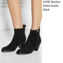 ACNE Pistol Short Suede black  ショートブーツスエード