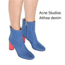ACNE Althea denim ankle boots デニムショートブーツ