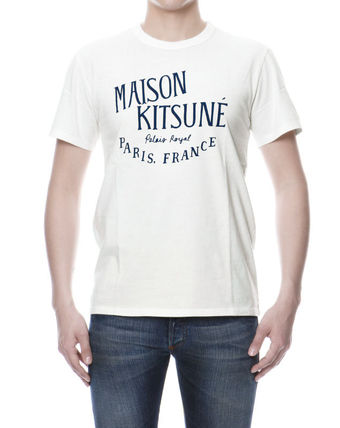 MAISON KITSUNE short sleeve T shirt White PALAIS ROYAL