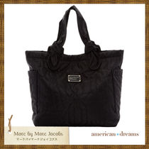 SALE! 即発送★ marc by marc jacobs ナイロントート black