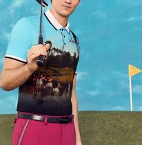 TED BAKER(テッドベイカー ) メンズ・トップス 春夏最新作★Palm Springs print polo shirt