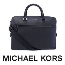 17SS ☆Michael Kors Mens☆ HARRISON 2wayブリーフケース M♪