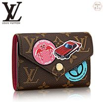 Louis Vuitton☆小さめ☆PORTEFEUILLE VICTORINE*折りたたみ財布