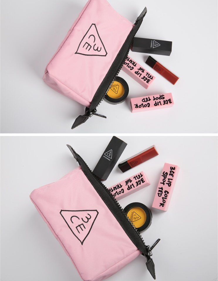 【3CE】 3CE PINK RUMOUR POUCH SMALL