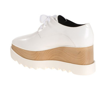 Stella McCartney シューズ・サンダルその他 【関税負担】 STELLA MCCARTNEY ELYSE SHOES WHITE(3)