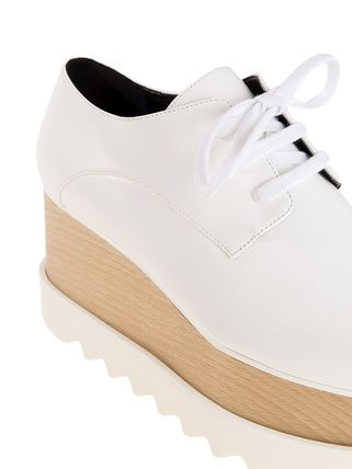 Stella McCartney シューズ・サンダルその他 【関税負担】 STELLA MCCARTNEY ELYSE SHOES WHITE(4)