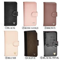 ☆GUESS☆新作♪小さなロゴが可愛い手帳型ケース☆iPhone 6 6S☆