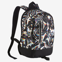 追尾/関税込☆NIKE CHEYENNE PRINT BACKPACK  black BA5223-100