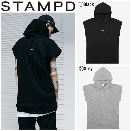 【Stampd' LA】☆17SS新作☆VINTAGE TERRY MUSCLE HOOD