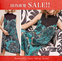 【国内即発】ANTHROPOLOGIE★Butterfly Lace Swing Dress