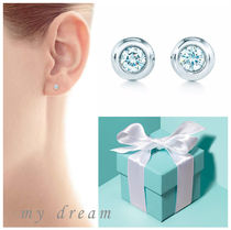 【Tiffany & Co】Elsa's By The Yard Earring in silver .06ct