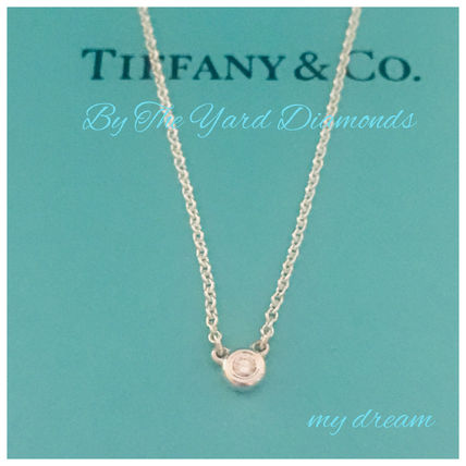 Tiffany & Co ネックレス・ペンダント 【Tiffany & Co】Elsa's By The Yard Pendant in silver .03ct