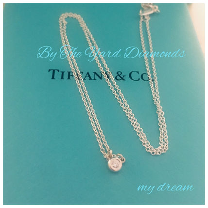 Tiffany & Co ネックレス・ペンダント 【Tiffany & Co】Elsa's By The Yard Pendant in silver .03ct(2)