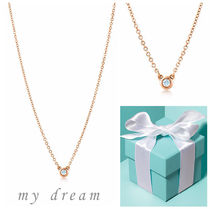 日本未入荷【Tiffany】 By The Yard Pendant in Rose Gold .03ct