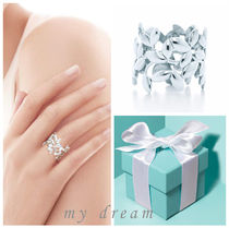 【Tiffany & Co】Paloma Picasso Olive Leaf Band Ring