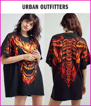 日本未入荷・新作17SS☆UO☆Flaming Skull Oversized Tee☆