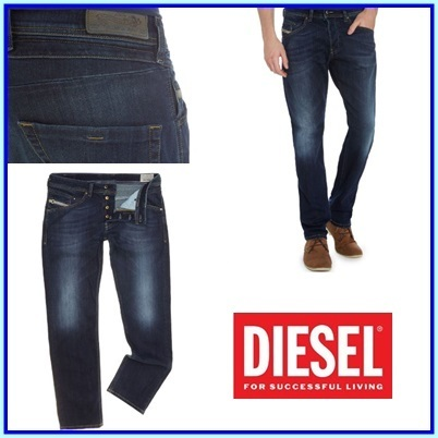 DIESELディーゼル Belther 814w Tapered Fit ジーンズ送料関税込