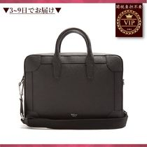 ★新作がすぐ届く★Belgrave grained-leather briefcase
