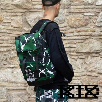 KTZ T.W.T.C. camouflage backpack