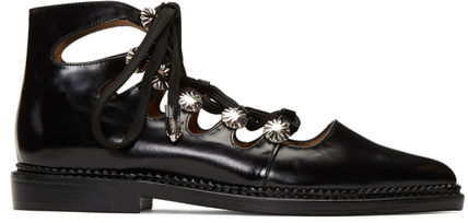 TOGA lace-up boots