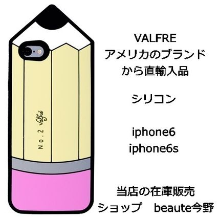 Valfre iPhone・スマホケース Valfre ヴァルフェー PENCIL 3D IPHONE 6 6S ケース 正規品 即納
