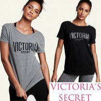 ☆Victoria'sSecret☆バックレースアップロゴTシャツ♪国内発送